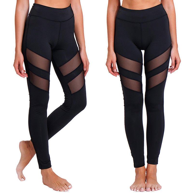 Mesh Active Wear Yoga Pants