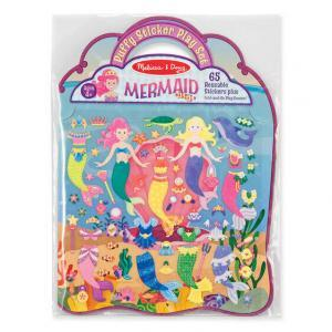 Puffy Sticker Mermaid Front Image